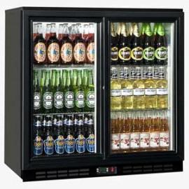 Genfrost GBB2S Double Sliding Door Bottle Cooler