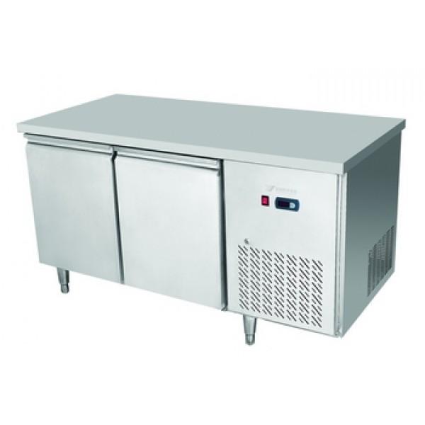 Atosa EPF3462 Two Door Table Freezer