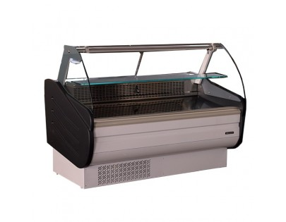Blizzard BCG200WH 2m Curved Glass Serve Over Display Chiller