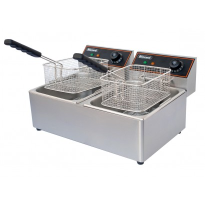 Blizzard BF6+6 Twin Tank Electric Fryer