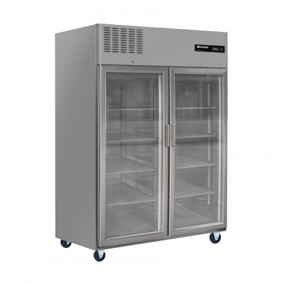 Blizzard BL2SSCR Double Glass Door Storage Freezer