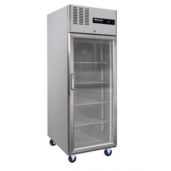 Blizzard HB1SSCR 650Ltr Glass Door Service Cabinet