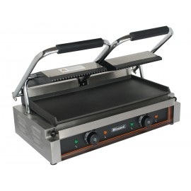 Blizzard BRSCG2 Double Contact Grill Top Ribbed Bottom Smooth Plate
