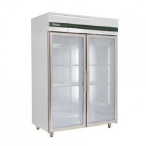 Inomak CES2144CR Heavy Duty Double Glass Door Refrigerator