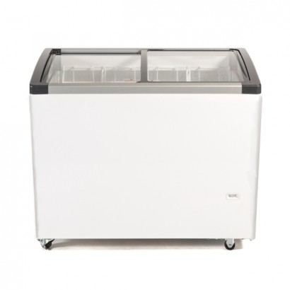 Genfrost CSL100 240ltr Sliding Glass Lid Chest Freezer