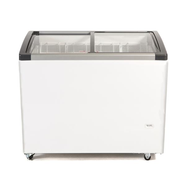 Genfrost CSL100 240ltr Sliding Glass Lid Chest Freezer