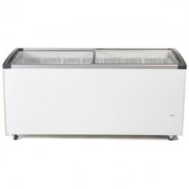 Genfrost CSL180 480ltr Sliding Glass Lid Chest Freezer