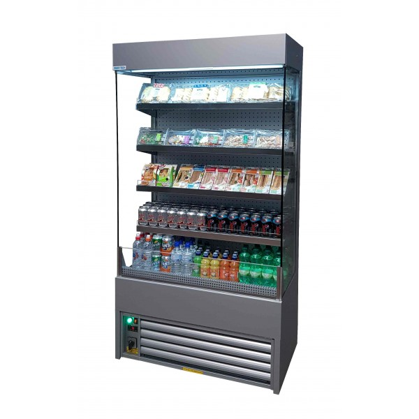 Frost Tech ECO MD60-100 1m Silver Steel Multideck Display Chiller