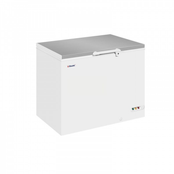 Elcold EL35SS Stainless Steel Lid Chest Freezer