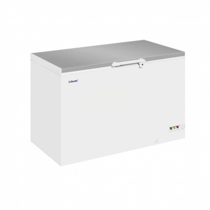 Elcold EL45SS Stainless Steel Lid Chest Freezer