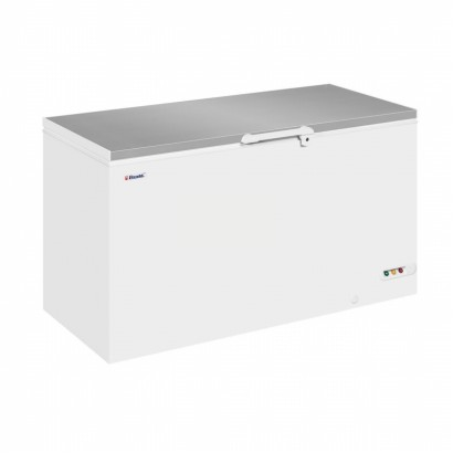 Elcold EL53SS Stainless Steel Lid Chest Freezer