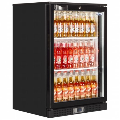 Elstar EM131 Black Single Door Bottle Cooler