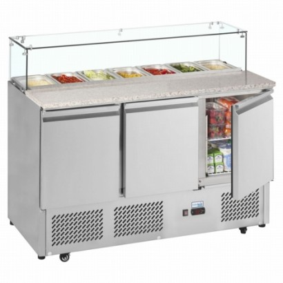 Interlevin EPI1365G 1.4m Gastronorm Preparation Counter