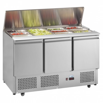 Interlevin ESA1365G 1.4m Gastronorm Saladette Counter