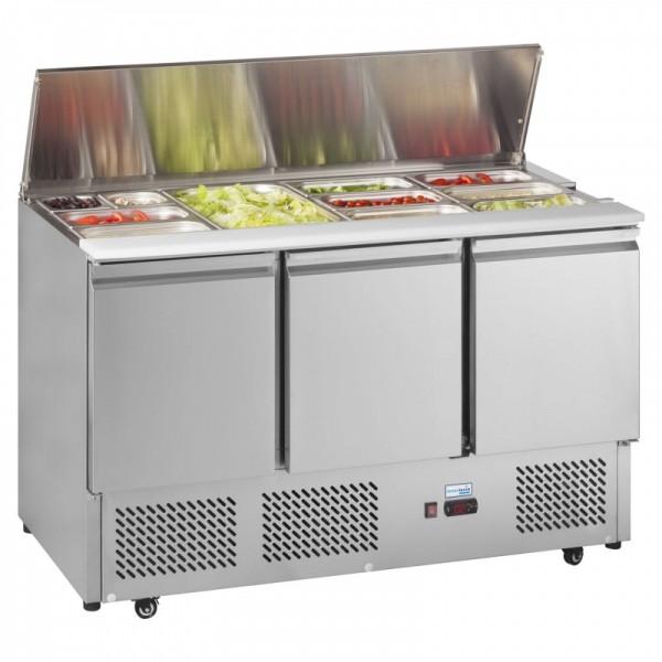 Interlevin ESA1365G 1.4m Gastronorm Saladette Counter