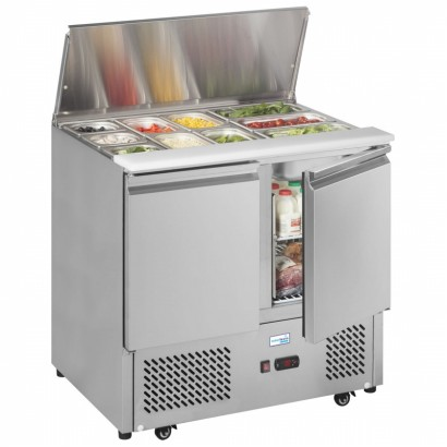 Interlevin ESA900 0.9m Gastronorm Saladette Counter