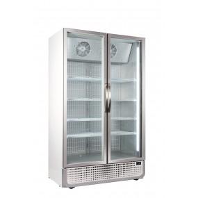 Husky F10PRO-HU Double Door Display Freezer
