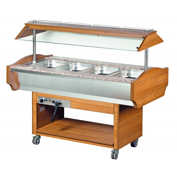 Blizzard GB4-HOT 4 x 1/1 Gastronorm Buffet Display