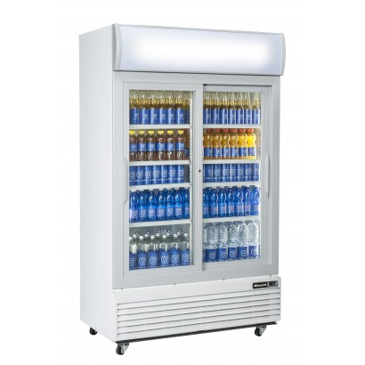 Blizzard GD1000SL Double Sliding Door Refrigerated Merchandiser