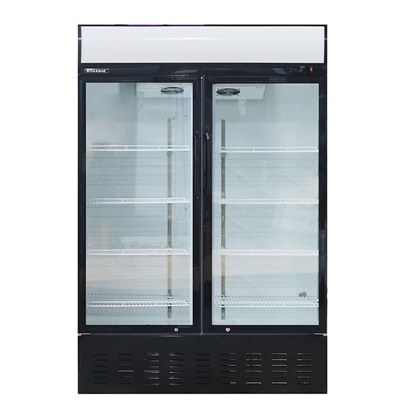 Blizzard GD900 Double Hinged Door Display Chiller