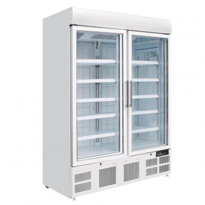 Polar GH507 Upright Double Glass Door Display Freezer