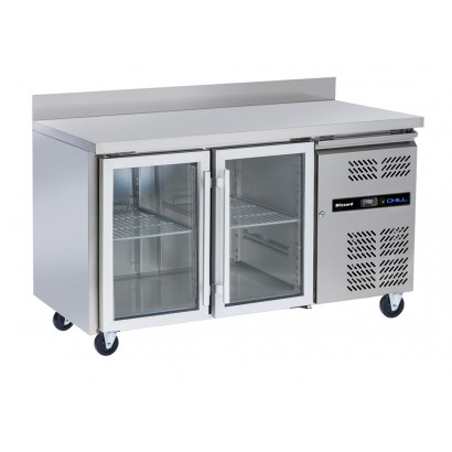 Blizzard HBC2CR Glass Door Fridge Counter