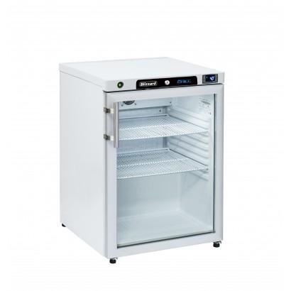 Blizzard HG200WH Glass Door Refrigerator