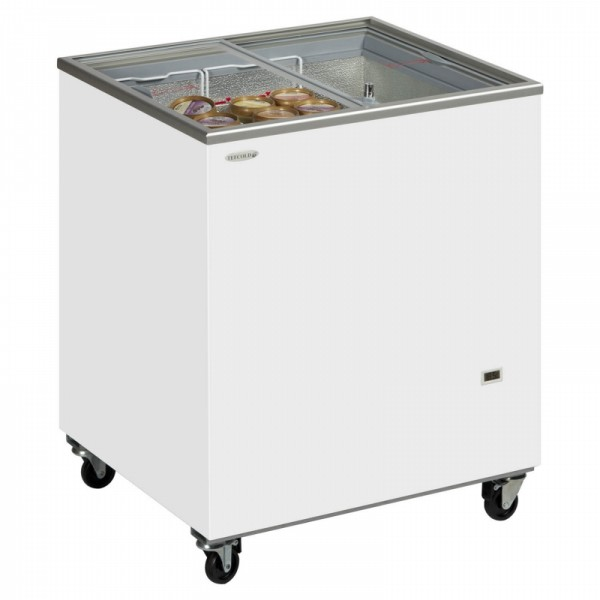 Tefcold IC200SC 165 Litre Sliding Lid Chest Display Freezer