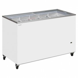 Tefcold IC500SC 491 Litre Sliding Lid Chest Display Freezer