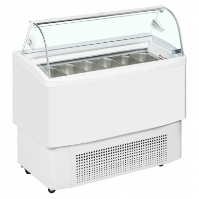 ISA Fiji 4 4 Pan Ice Cream Display Freezer