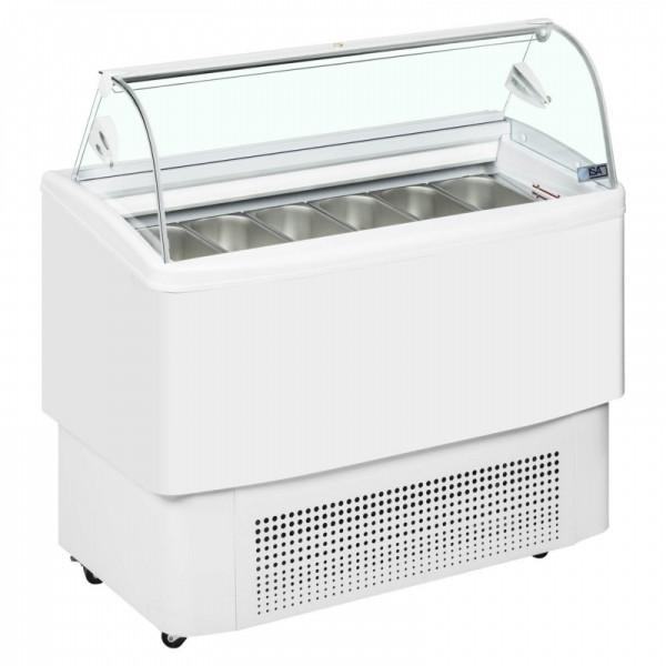 ISA Fiji 120 9 Pan Ice Cream Display Freezer