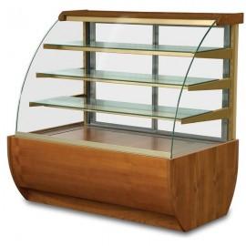 Igloo Jamaica JA90WW OPEN 0.9m Wood Finish Open Front Pastry Case