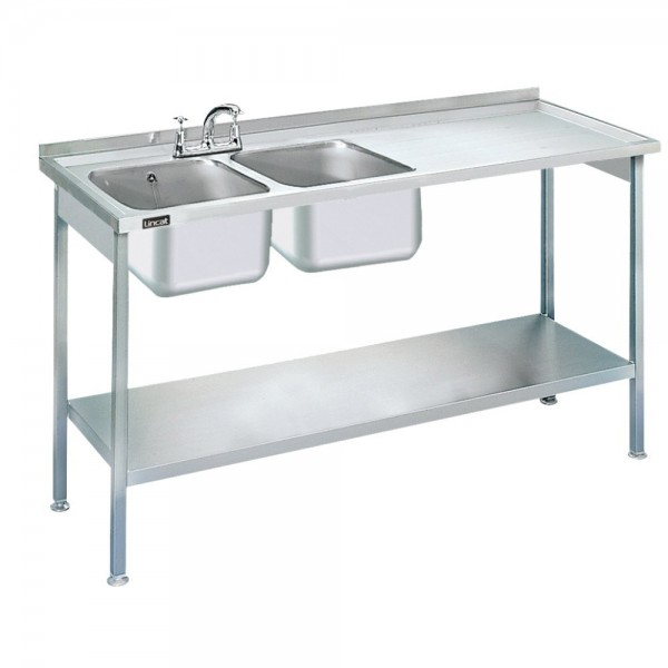 Lincat L884 1.5m Double Catering Sink
