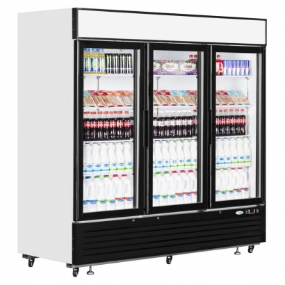 Interlevin LGC7500 2050 Litre Triple Glass Door Merchandiser