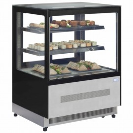 Interlevin LPD1500F 1.5m Chilled Flat Glass Display Cabinet
