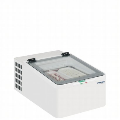 Framec MINI CREAM 2V Counter Top Scoop Ice Cream Display Freezer