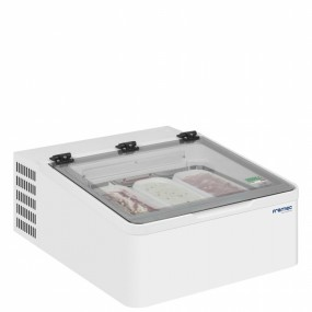 Framec Mini Cream 3V Counter Top Ice Cream Display Freezer