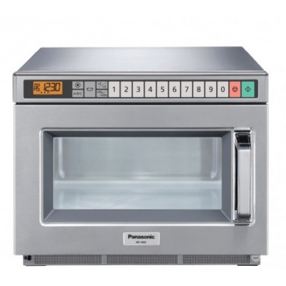 Panasonic NE-1853 Heavy Duty 1800w Touch Control Microwave Oven with Microsave Cavity Liner