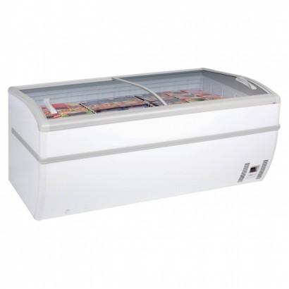 Arcaboa Panoramica 2m Manual Defrost High Vision Freezer