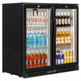 Interlevin PD20H Hinged Double Door Bottle Cooler