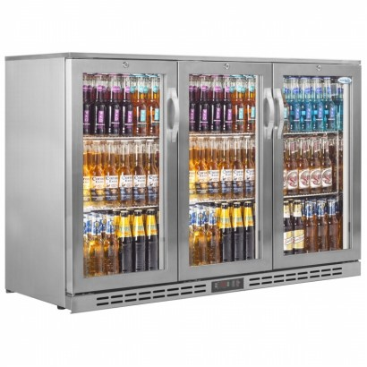 Interlevin PD30H SS Triple Door Bottle Cooler