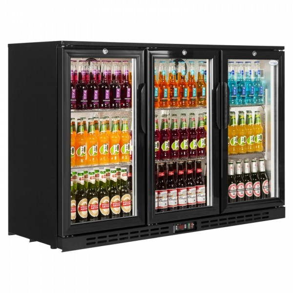 Interlevin PD30H Hinged Triple Door Bottle Cooler