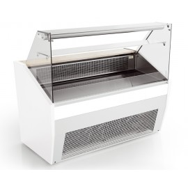 Valera PRONTO-FG98 1.0m Flat Glass Serve Over Counter
