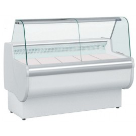 Igloo Rota 100 1.1m Slimline Curved Glass Serve Over Counter