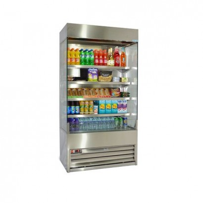 Frost Tech SD75-100 1.0m Stainless Steel Multideck