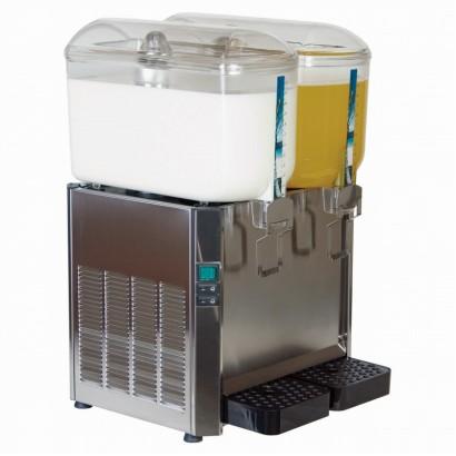 Promek SF224 2 x 12 Litre Milk/Juice Dispenser