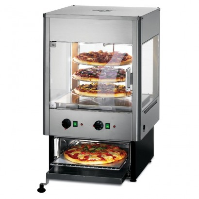 Lincat UMO50 Seal Upright Heated Merchandiser with Oven