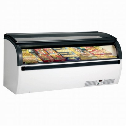 Arcaboa Vision 200H Hinged Lid High Vision Freezer
