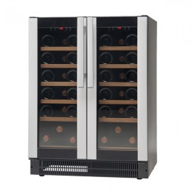 Vestfrost W38 38 Bottle Undercounter Dual Temperature Wine Cooler