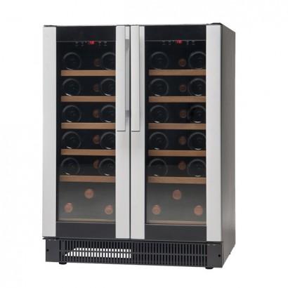 Vestfrost W38 38 Bottle Undercounter Dual Temperature Wine Cooler